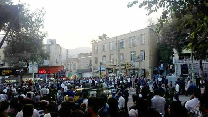 Sanandaj Citizens Rallied in Protest to the Killing of Kurdish Kolbars by Iranian Disciplinary Forces
