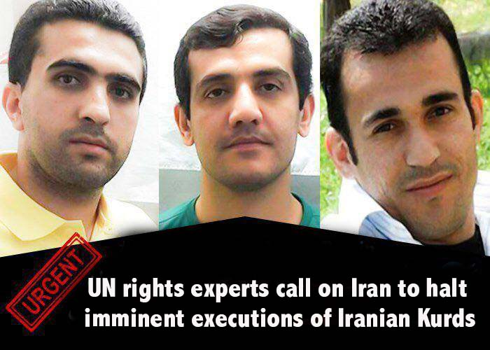 UN rights experts call on Iran to halt imminent executions of Iranian Kurds