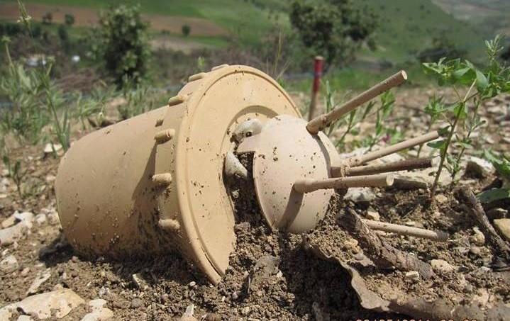 انفجار مین در یکی از روستاهای سقز