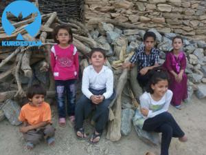تصویر کودکان قربانی روستای نشکاش