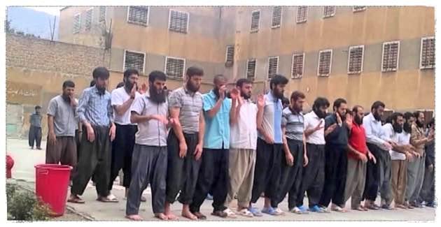 حمله گارد ویژه به بند زندانیان سنی مذهب زندان رجایی شهر کرج