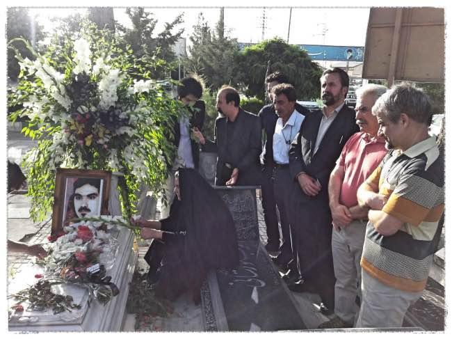 برگزاری هشتمین سالگرد جانباختن کیانوش آسا در کرمانشاه