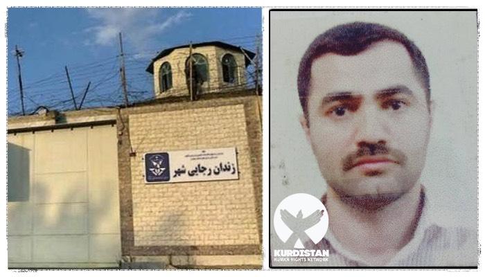 اعدام یک زندانی سنی مذهب کُرد در زندان رجایی شهر کرج