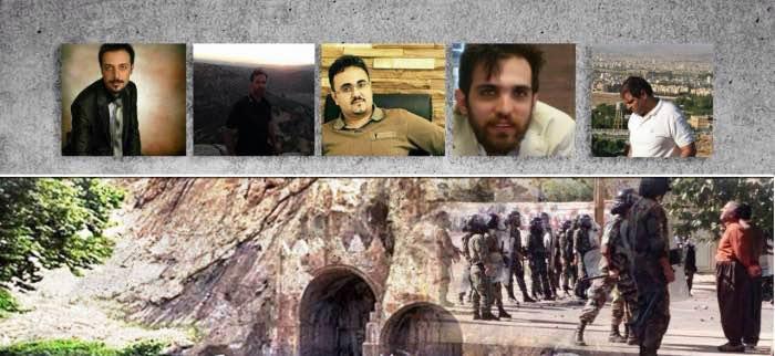 انتقال شش فعال فرهنگی بازداشتی کُرد به زندان مرکزی کرمانشاه