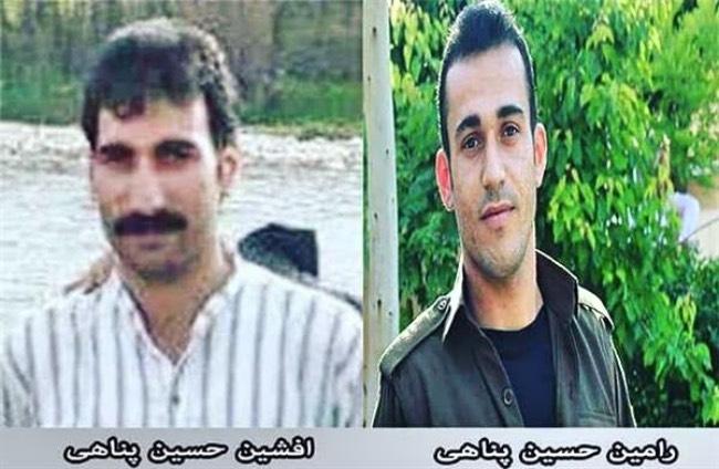 اعمال فشار علیه افشین و رامین حسین پناهی در زندان مرکزی سنندج