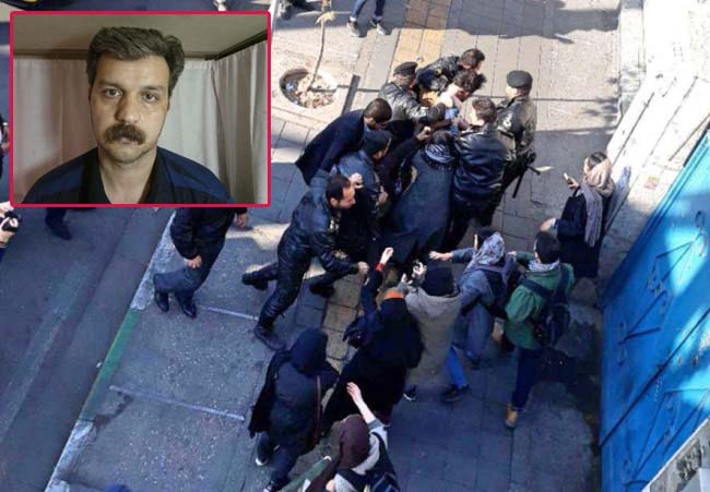 بازداشت ربابه رضایی و دهها معترض دیگر در مقابل وزارت کار
