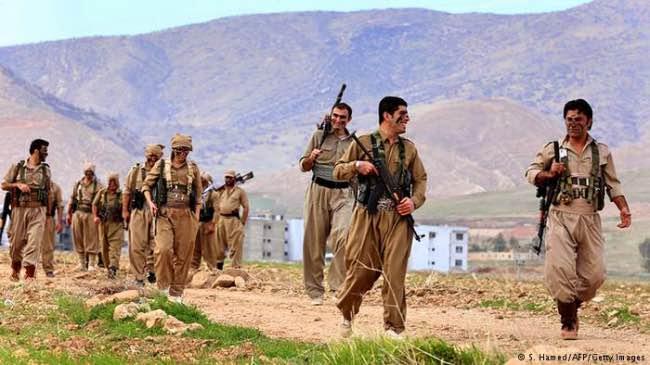 درگیری نیروهای وزارت اطلاعات و سپاه پاسداران با اعضای یکی از احزاب کُردی