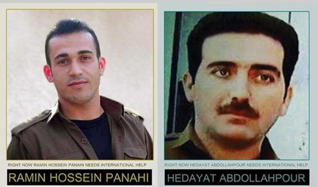جمعی از فعالین سیاسی و مدنی خواستار لغو حکم اعدام رامین حسین پناهی و هدایت عبداللهپور شدند