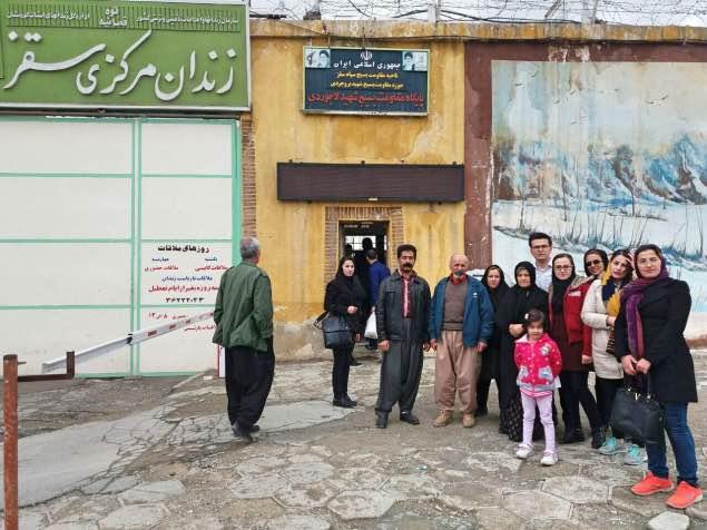 یک فعال کارگری کُرد برای تحمل حبس راهی زندان سقز شد