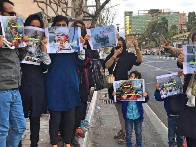 جو امنیتی و بازداشت تعدادی از معترضین در پی فراخوان حمایت از عفرین