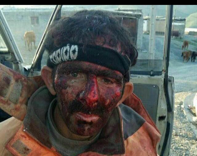 تعقیب و گریز نیروهای نظامی با کولبران، سقوط یک کولبر از کوه را در پی داشت