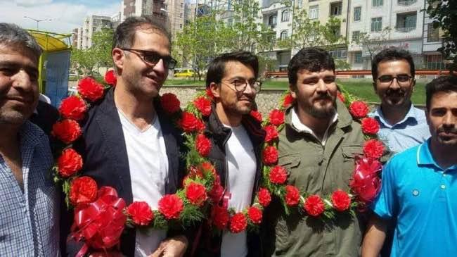 آزادی سه فعال کارگری بازداشت شده با تودیع وثیقه از زندان مرکزی سنندج