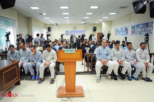 اعدام مخفیانه هشت زندانی متهم به معاونت و مساعدت در حملات مرگبار تهران