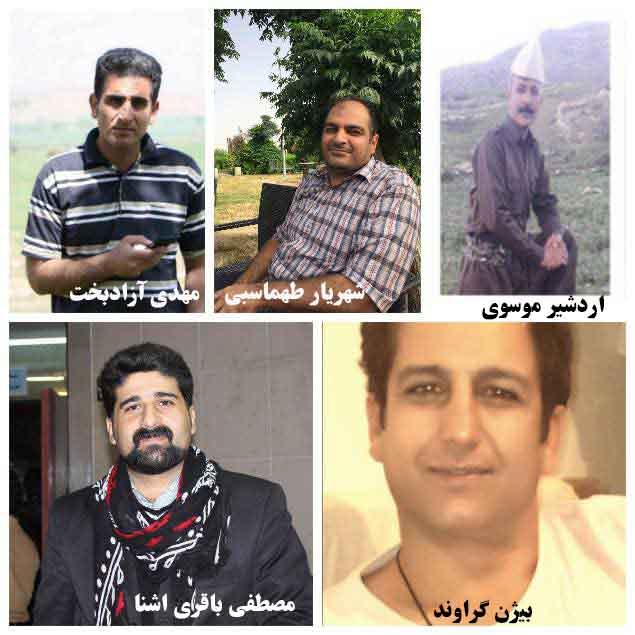 بازداشت گسترده فعالین فرهنگی کُرد در شهرهای مختلف