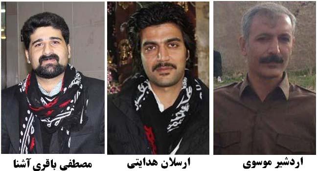 آزادی سه فعال فرهنگی کُرد با تودیع وثیقه