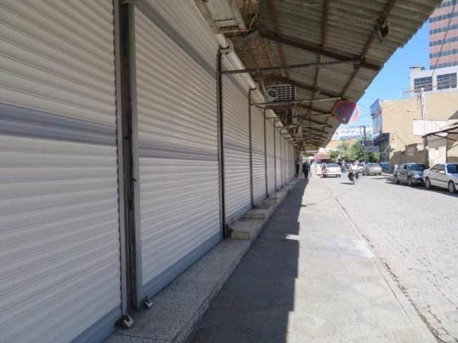 اعتصاب گسترده بازاریان و کسبه شهرهای مختلف کُردستان در محکومیت اعدام زندانیان سیاسی و حمله موشکی سپاه به کویه