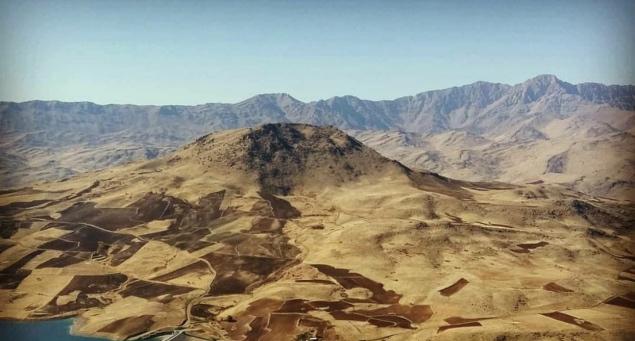 آتش سوزي کوهستان شاهو بر اثر توپباران سپاه پاسداران