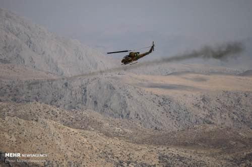 تخریب منطقه حفاظت شده شاهو و کوسالان توسط سپاه پاسداران