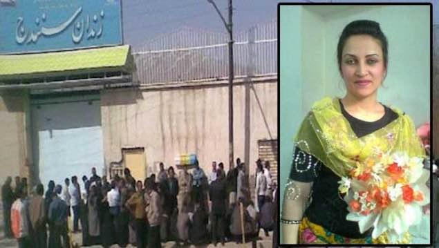 اعدام یک زن در زندان مرکزی سنندج