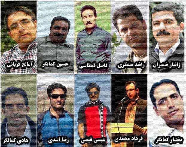 تمدید قرار بازداشت ده فعال سیاسی و مدنی کُرد/ افزایش فشار علیه آنها جهت انجام اعترافات تلویزیونی