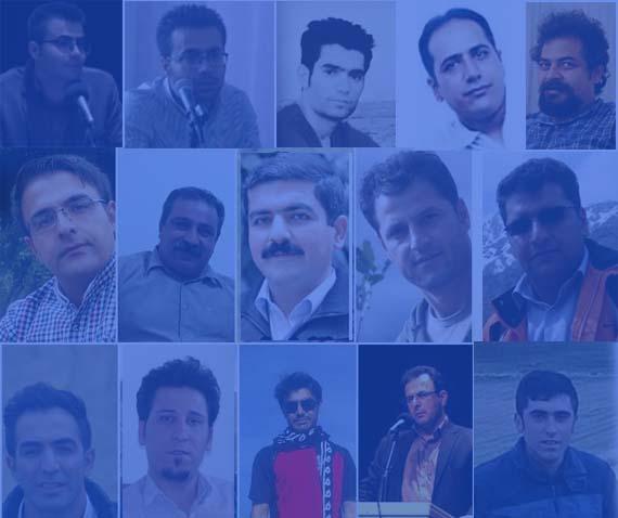 تجمع خانواده تعدادی از بازداشتشدگان اخیر در مقابل ساختمان سازمان اطلاعات سپاه پاسداران سنندج