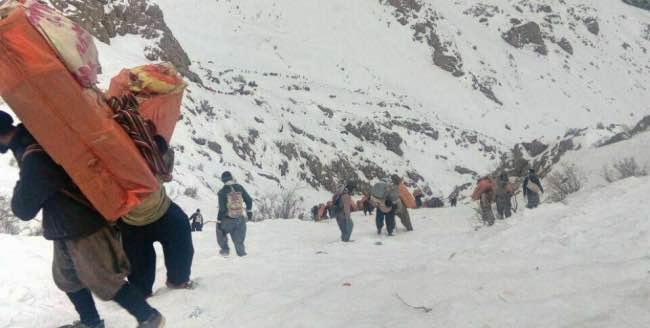 زخمی شدن دو کولبر توسط نیروهای مرزبانی ایران