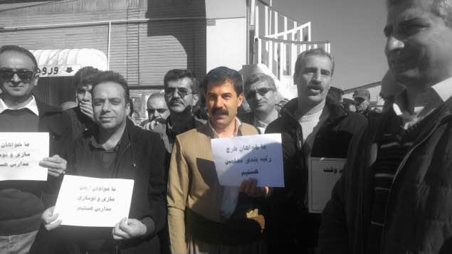 بازداشت مختار اسدی، فعال صنفی معلمان کردستان در سنندج