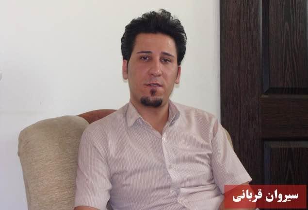 در ادامه بازداشت گسترده  فعالان كُرد، سيروان قربانی عضو شورای مرکزی حزب وحدت ملی بازداشت شد