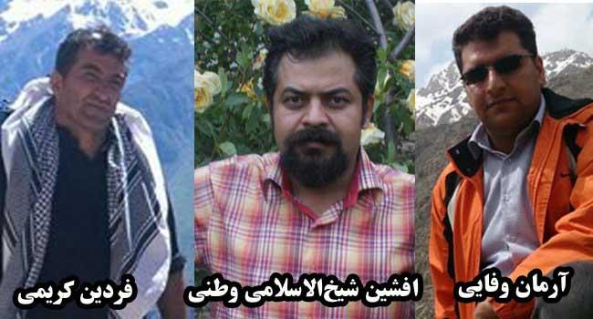 آزادی سه تن از بازداشتشدگان در سنندج با قرار وثیقه