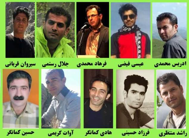 گزارشی از آخرین وضعیت فعالان محیط زیست کردستان: تعیین وثیقه های سنگین و تداوم نگهداری در سلول های انفرادی