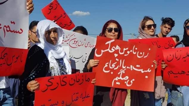 بیانیه اعتراضی فعالان مدنی و انجمنهای مردم نهاد مریوان در محکومیت بازداشت جمعی از فعالان مدنی معترض به خشونت علیه زنان