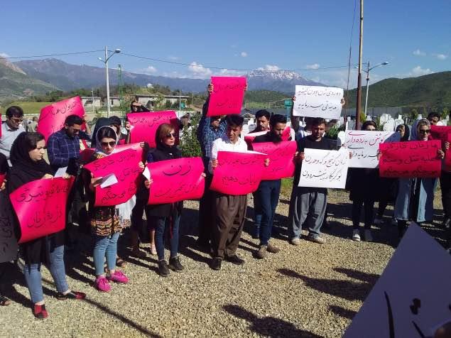 بازداشت ٧ فعال مدنی معترض به خشونت علیه زنان در شهر مریوان